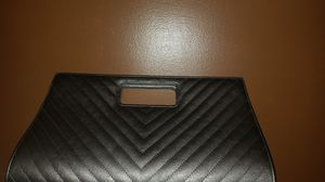 Charming Charlie gray large clutch purse for Sale in Streetsboro, OH