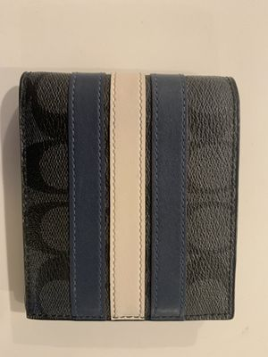 COACH men's designer wallet for Sale in Nashville, TN