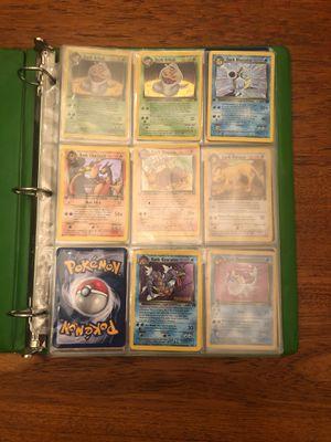 Binder of rare, 1st gen pokemon cards for Sale in Kennewick, WA