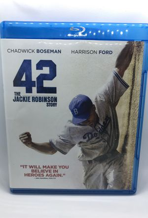 42 The Jackie Robinson Story Blu-ray DVD for Sale in Riverside, CA