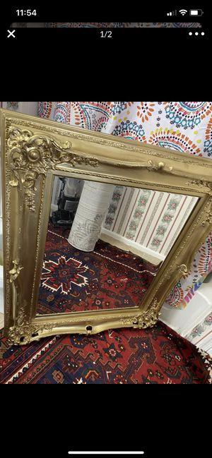 Antique gold mirror for Sale in Centreville, VA