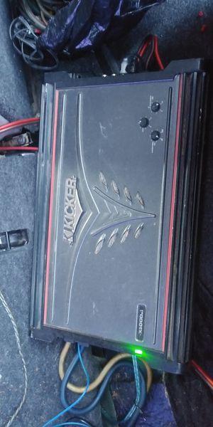 KICKER AMP ZX1000.1 1000RMS $120 O MEJOR OFERTA for Sale in Lynwood, CA
