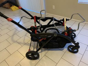 Contours Double Stroller twins double universal car seat contour options for Sale in Phoenix, AZ