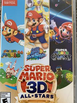 New Super Mario 3D All * Stars for Nintendo Switch for Sale in Lynnwood,  WA