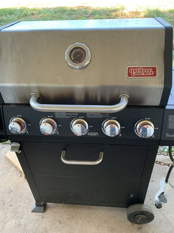 Outdoor gourmet 5 burner gas grill for Sale in Anderson ...