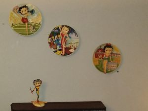 Betty Boop 3D wall collector plates for Sale in Winston-Salem, NC