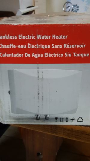 Tankless electric water heater for Sale in Austin, TX