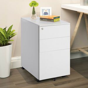 3 Drawer Filing Cabinet Locking Pedestal Desk for Sale in Wildomar, CA