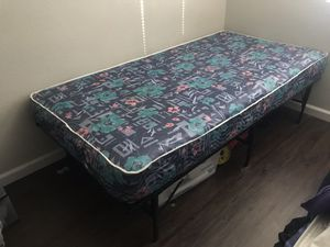 Twin Mattress/Frame for Sale in Chico, CA