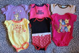 6-9 Months Baby Girl Onesies Pre-owned for Sale in Federal Way, WA