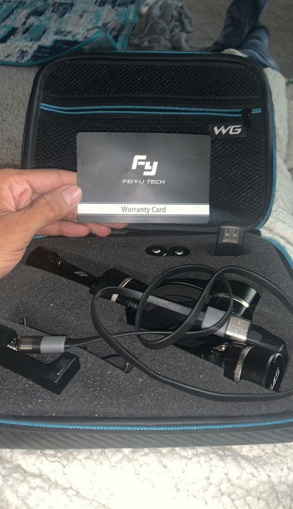 G4s Stabilizer for GoPro Feiyu Tech