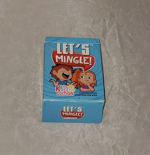 Let's Mingle KIDS Card Game | Conversation Starters | for Sale in Gilbert, AZ