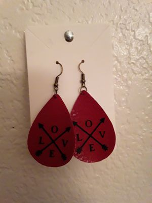 Valentines day earrings for Sale in Hemet, CA