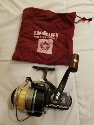 Daiwa Silver Series 4000c Limited Edition Rare Made in Japan Fishing Reel New for Sale in Chicago, IL