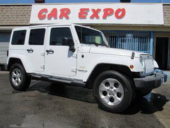 2013 Jeep Wrangler Unlimited Sahara for Sale in Downey,  CA