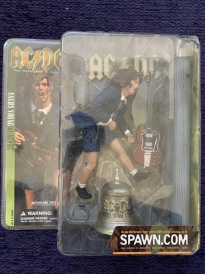 McFarlane toys Angus Young for Sale in San Antonio, TX