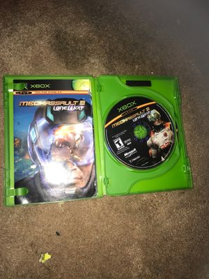 Xbox Limited edition Mechassault 2 / lone wolf for Sale in Modesto, CA