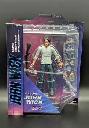 John Wick Casual Deluxe Action Figure for Sale in San Jose, CA