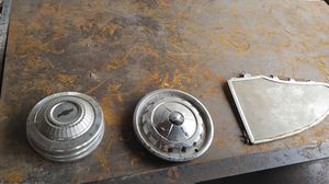 Old Hub cap and window trim for Sale in Norwood, NC