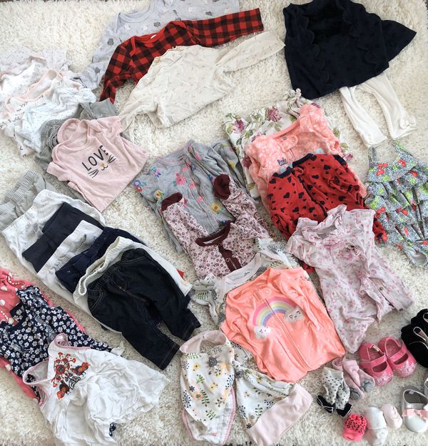 9 months baby girl clothes