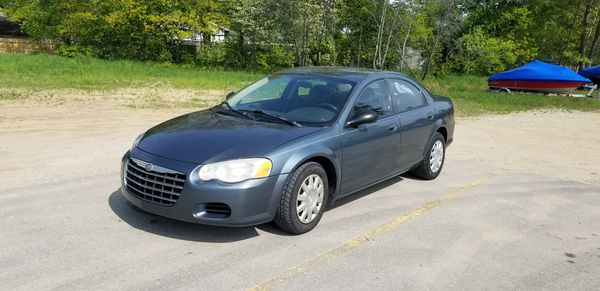 2005, Chrysler sebring 4 door sedan. 2.4 cyl. 180,000mi.