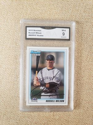 9 mint Russell Wilson Graded Rookie card for Sale in Puyallup, WA