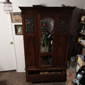 Antique Armoire 3 Piece for Sale in Yucaipa, CA