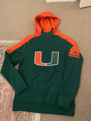 University of Miami Adidas hoodie for Sale in Coral Gables, FL