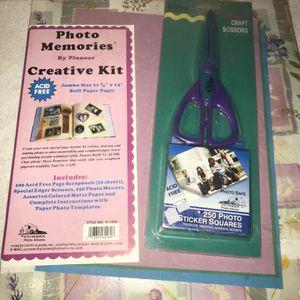 Pioneer Photo Memories Creative Kit Scrapbook 11 X 14 for Sale in Port Richey, FL