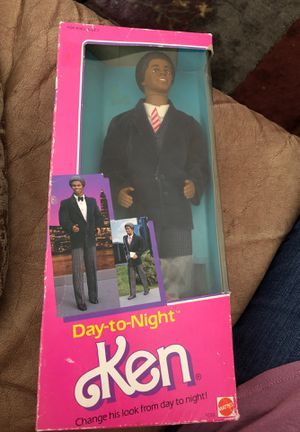 Vintage / Antique / Retro / 80's / 1984 / Box never opened Mattel African American Ken Doll / Day - to - Night Ken $35 for Sale in Phoenix, AZ