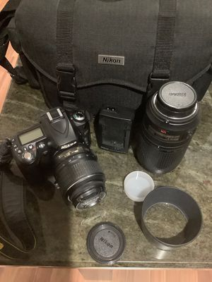 Nikon D90 kit with 18-55mm and 70-300mm lenses for Sale in Chicago, IL