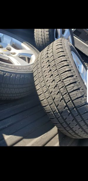 2018 Silverado Wheels and tires with TPMS sensors for Sale in Mesquite, TX