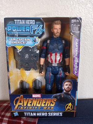 Captain america power fx for Sale in San Diego, CA