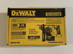 DEWALT 20-Volt MAX Lithium-Ion Cordless 1 in. SDS-Plus Brushless L-Shape Concrete & Masonry Rotary Hammer DCH273B for Sale in Garden Grove, CA