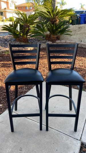 Bar stool high back chairs for Sale in Vista, CA