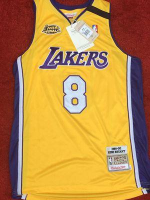 Kobe Bryant Lakers 2000 championship jersey men's medium for Sale in Atlanta, GA