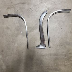 Impala 1959~60 Four Door Or Wagon Side Windshield Chrome Pieces for Sale in Clovis, CA