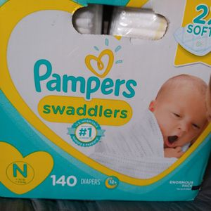 Pampers newborn Diapers ((NEW)) for Sale in Fontana, CA