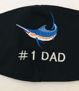 Face MaskQUALITY Mexico Embroidered marlin fish with filter perfect size for Sale in Edinburg, TX