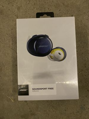 BRAND NEW BOSE SOUND SPORT FREE WIRELESS for Sale in Fountain Valley, CA