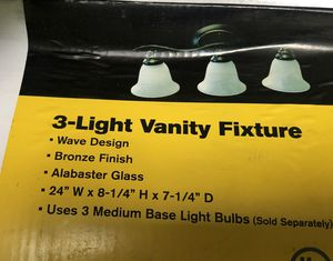 3-Light Vanity Fixture for Sale in Los Angeles, CA