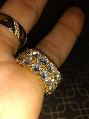 ICED OUT ring Stainles steel sz 7 for Sale in Kissimmee, FL
