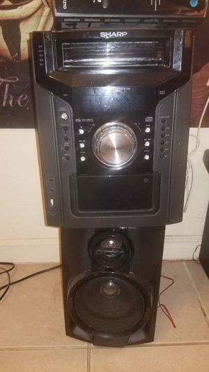 Sharp 330w stereo system for Sale in Fresno, CA