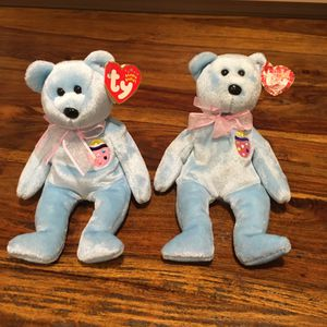 2 EggsII TY Beanie Babies for Sale in Vancouver, WA
