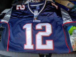 Patriots Brady 12# NFL Jerseys for Sale in Oxnard, CA