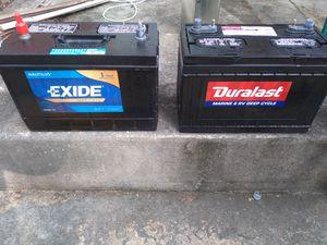 Marine/RV batteries for Sale in Alexandria, VA