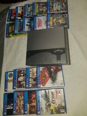 PS4 con 18 juegos y 1 control for Sale in Annandale, VA