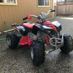 Power Wheels Kawasaki kfx ninga 12 volt for Sale in Seattle, WA