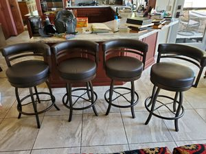 4 Swiveling Barstools for Sale in Fresno, CA