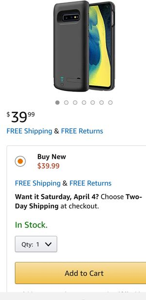 Battery Case Compatible with Samsung Galaxy S10e, 5000mAh for Sale in El Monte, CA